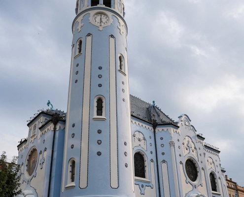 Bratislava The Blue Church