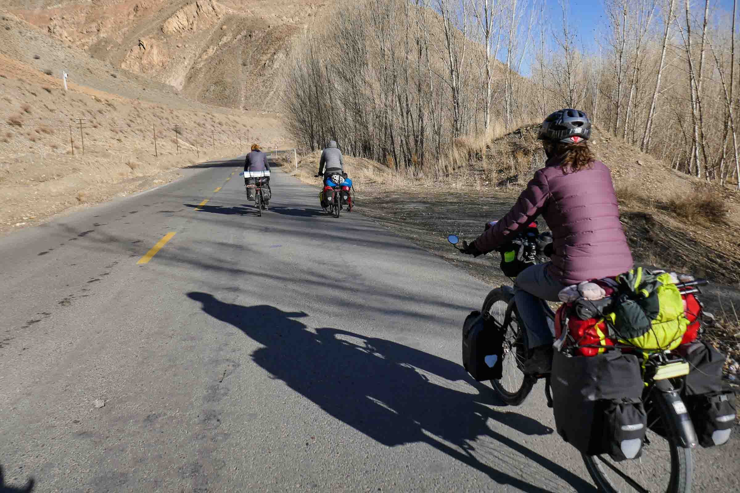 Cycling into Iran