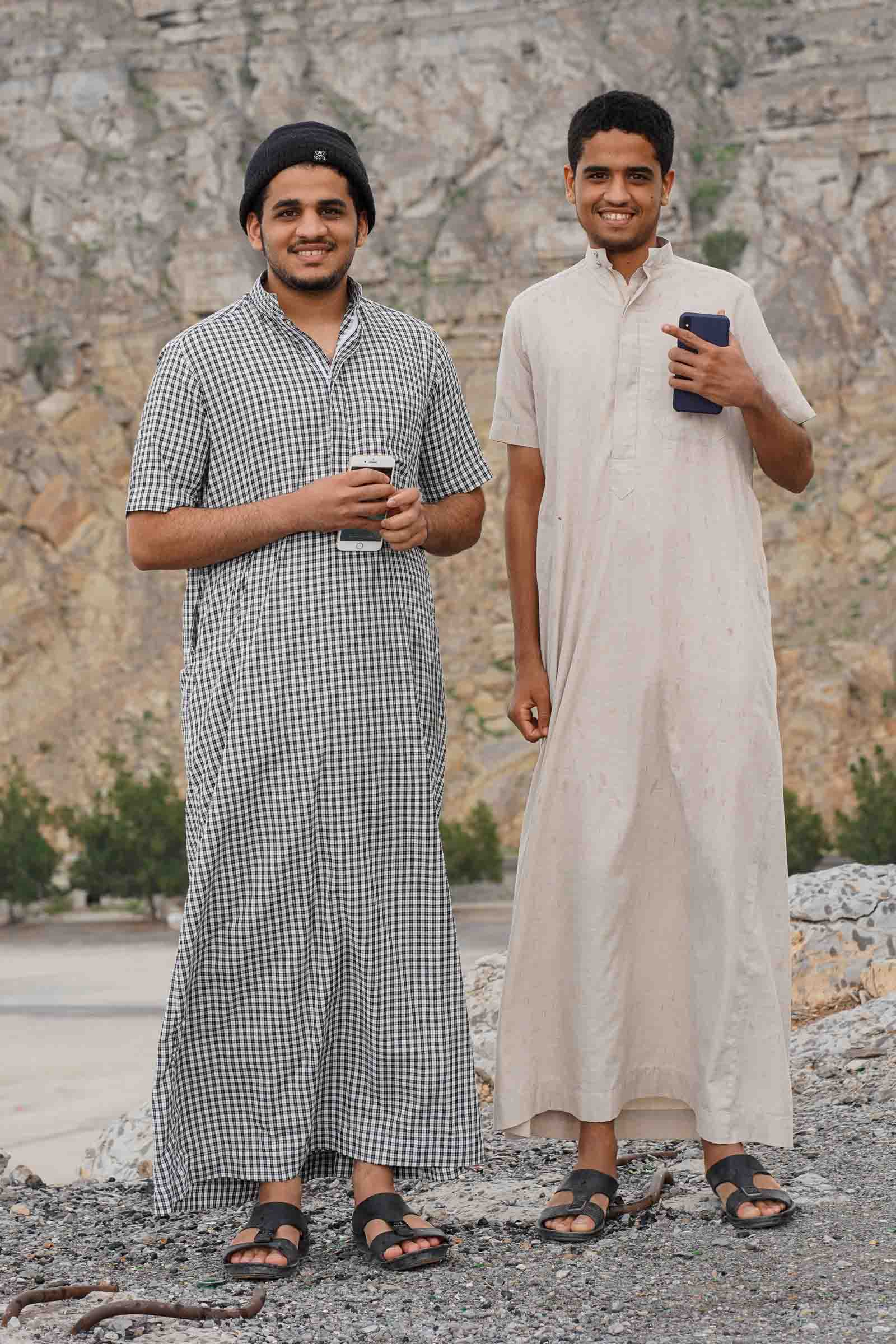 Young Omanis